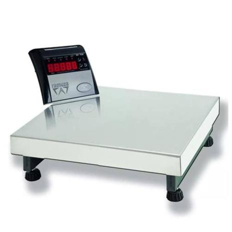 Imagem de Balança Plataforma Digital Comercial Industrial 50kg/10g  + Bateria - Selo Inmetro - DPB 50 - Ramuza