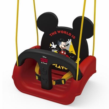 Imagem de Balanço infantil mickey com encosto e cinto xalingo