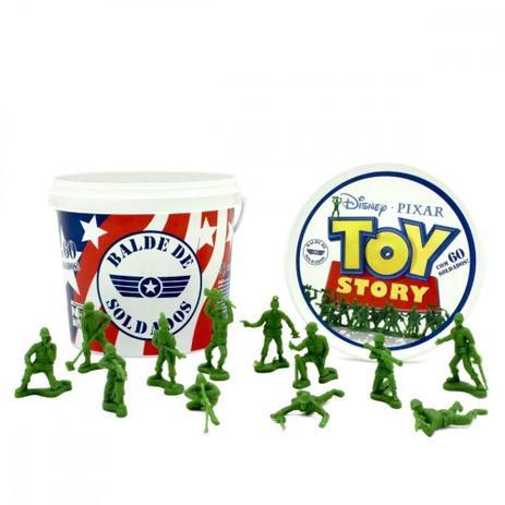 Imagem de Balde com 60 Soldados Toy Story Original, Toyng