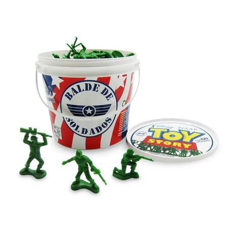 Imagem de Balde de Soldados - 60 peças - Toy Story - Toyng