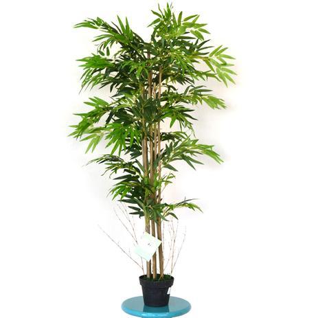 Bambu artificial de 1,5m de altura 1095 folhas da design plantas ...