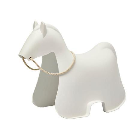 Imagem de Banco Byartdesign Cavalo Kids Branco