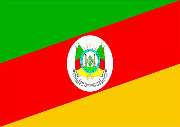 Imagem de Bandeira do Rio Grande do Sul 30x42 cm