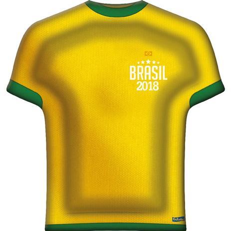 fcca961a8 Bandeja Camisa Copa do Mundo 2018 - Decoração - Festabox - Bandejas ...