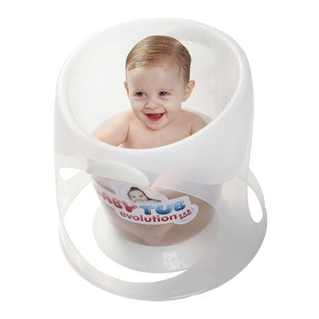 9511726e5 Banheira Babytub Evolution - De 0 a 8 Meses - Branco - Baby Tub ...