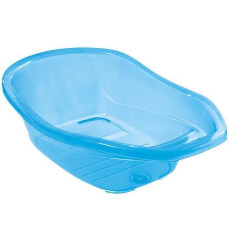 Imagem de Banheira Infantil Tutti Baby Universal 30L Transparente Azul