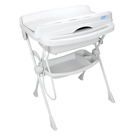 Imagem de Banheira para Bebê Burigotto Splash com Assento - Branca