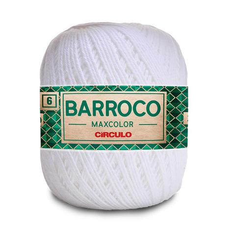 Imagem de Barbante Barroco Maxcolor Cor 8001 200g Nº 6 - Círculo