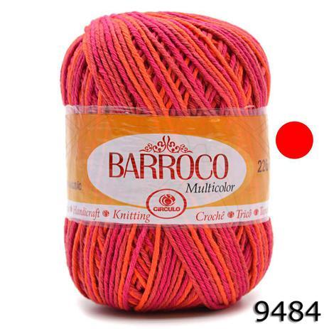 Imagem de Barbante Barroco Multicolor 200g
