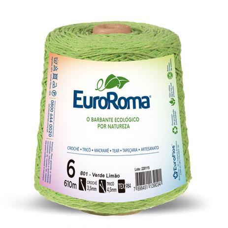 Imagem de Barbante Colorido Euroroma 4/6 - 600g