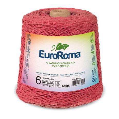 Imagem de Barbante Colorido nº6 c/ 600g EuroRoma - Melancia