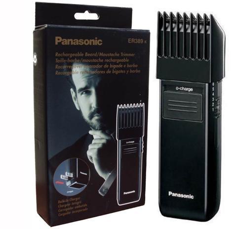 0fd140c88 Barbeador E Aparador De Barba Panasonic Er 389k 127v Máquina De Acabamento