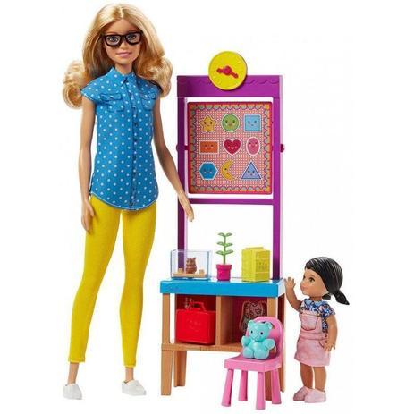 36ac2fcb5a Barbie Profissões Professora FJB29 - Mattel - Brinquedos Barbie ...