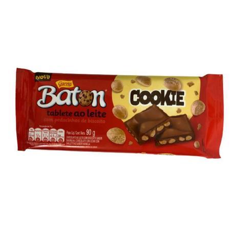 Imagem de Barra de chocolate cookie 90g baton
