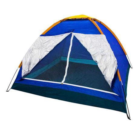 Imagem de Barraca Camping 4 Pessoas Iglu Tenda Acampamento Bolsa