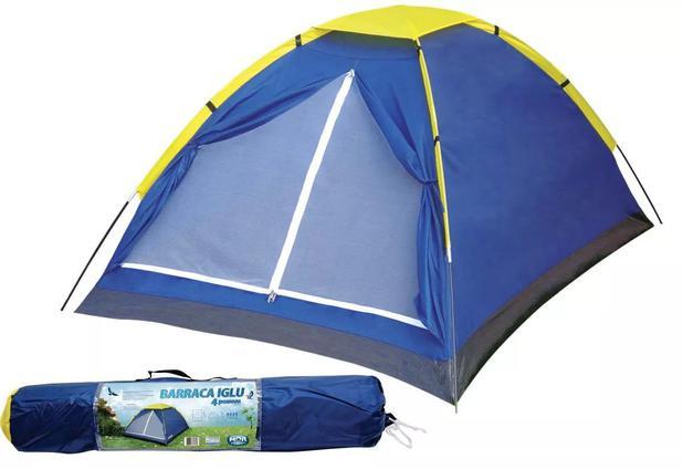 Imagem de Barraca Camping Iglu 4 Pessoas Mor 9035