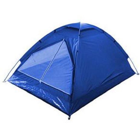 Imagem de Barraca De Camping Iglu Para 2 Pessoas C/ Bolsa 120x200x95cm Azul