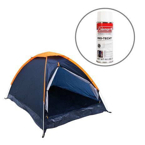 632567cf8 Barraca de Camping Panda 3 Pessoas Nautika + Impermeabilizante para Barracas  Coleman