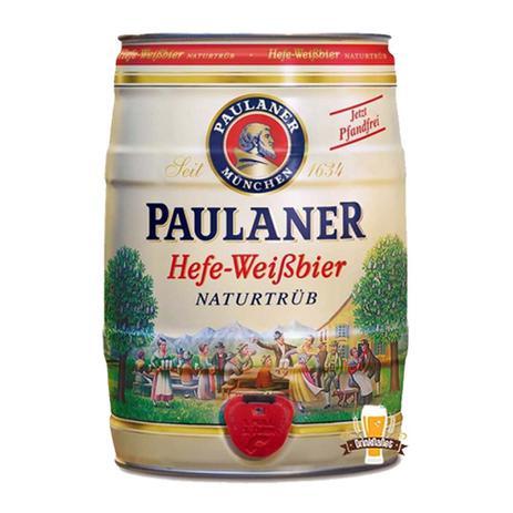 Imagem de Barrilete paulaner hefe-weissbier naturtrub 5 litros