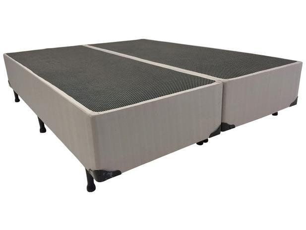 Imagem de Base Cama Box King Size Luckspuma Bipartido