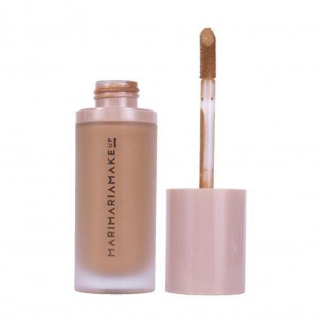 Imagem de Base e corretivo velvet skin mari maria makeup matte cor caramelo