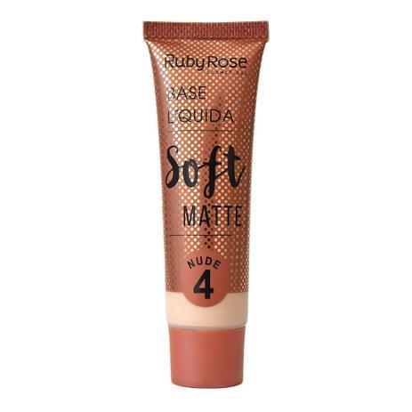Imagem de Base Líquida Ruby Rose Soft Matte Nude