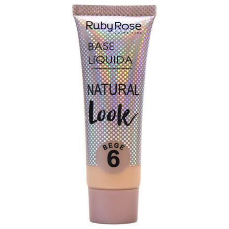 Imagem de Base Natural Look Bege 6- RUBY ROSE
