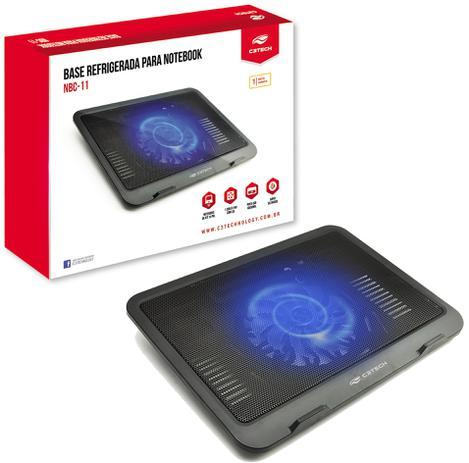 155eeb2e78 Base Notebook 1 Cooler 14 Cm 10 A 14 Polegadas Nbc-11bk - C3tech ...