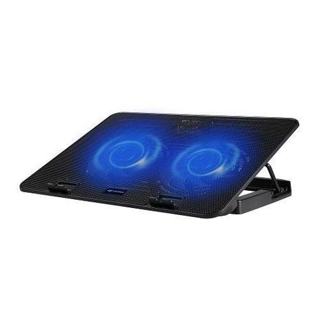 Imagem de Base P/ Notebook Até 15,6 C/ 2 Coolers 12cm NBC-50BK - C3tech
