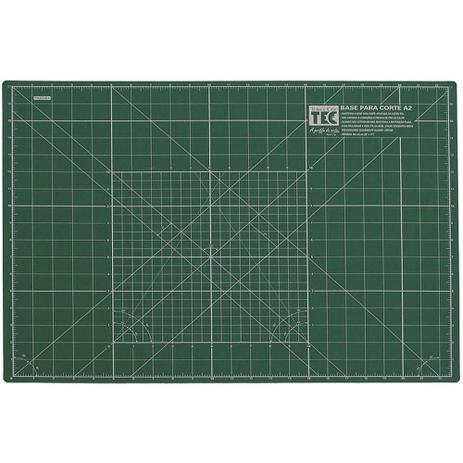 Imagem de Base para Corte A2 Verde 58x43cm Dupla Face Toke e Crie