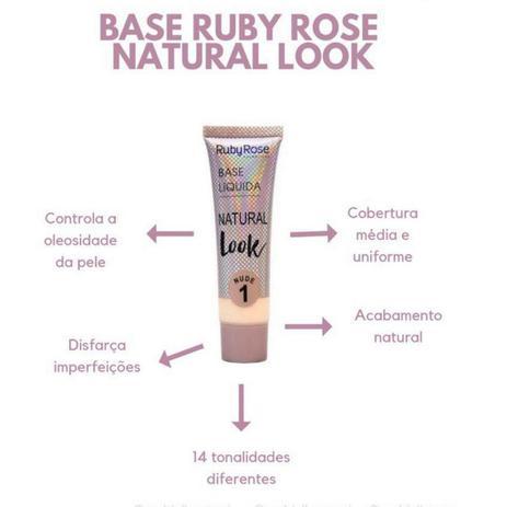 Imagem de Base Ruby Rose Natural Look