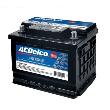Imagem de Bateria AC Delco 50 Amperes 12 Volts Lado Direito Caixa Alta