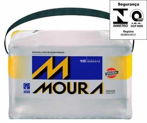 Imagem de Bateria Automotiva Moura 48ah 12v Inteligente Selada