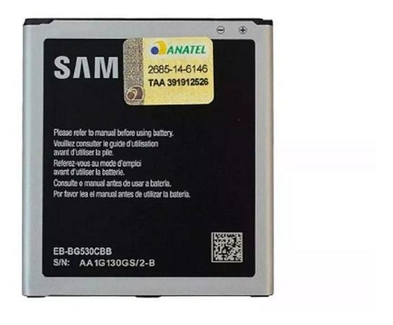 Imagem de Bateria Celular Samsung J5 J3 J2 Prime Gran Prime