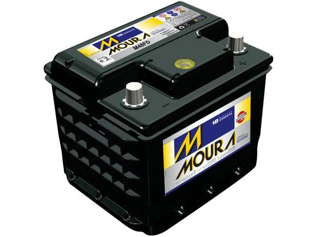 Imagem de Bateria de Carro Moura 48Ah 12V Polo Positivo