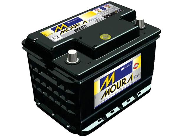 Imagem de Bateria de Carro Moura Flooded Advanced - 60Ah 12V Polo Positivo 60GD MGE