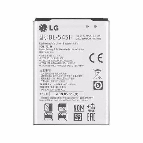 Imagem de Bateria Lg Bl-54sh D410 L90 D405 D375 L80 D724 D337