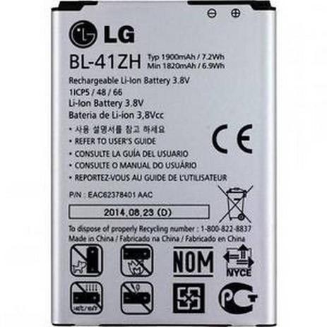 Imagem de Bateria Lg L50 D227 / D295 G2 Lite Bl-41zh H326 Original
