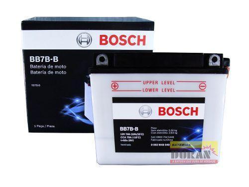 Imagem de Bateria Moto Bosch Bb7b-b 7ah 12v Honda Cbx Cbr Yamaha Tdm