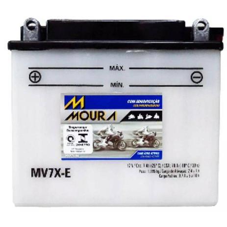 Imagem de Bateria Moto Mv7x-e Moura 7ah Honda CBX AERO XR Yamaha DT NEO AT TDM TTR 225 XT
