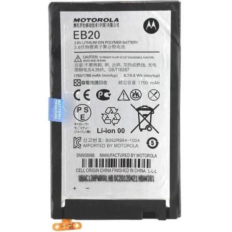 Imagem de Bateria Motorola Razr Eb20 Xt910 912 Mt917 Xt889