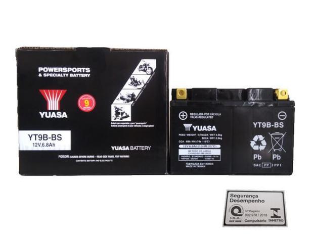 Imagem de Bateria Original Yuasa YT9B-BS YAMAHA XT 660Z Tenere