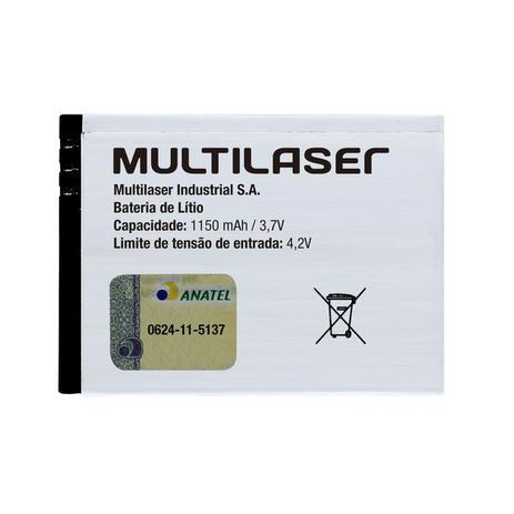 40c73183055 Bateria Para Celular Íon De Lítio 1150 mAh Bl-4c Bt001 Multilaser ...