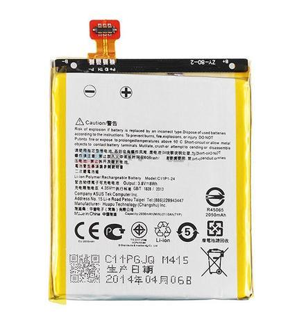Imagem de Bateria Part Number C11P1324 para Celular Smartphone Zenfone 5 A501 2030mAh