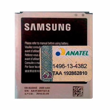 a7d5fe60898 Bateria Samsung SM-G7102T Original - EB-B220AE - Bateria para ...