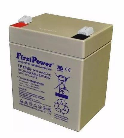 Imagem de Bateria selada 12v 5ah firstpower nobreak sms apc up1250