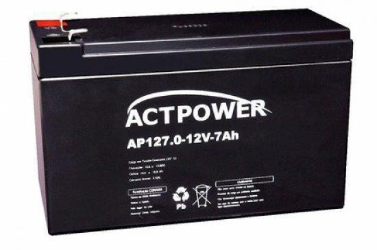 Imagem de Bateria Selada Recarregável 12 Volts  7Ah - ACT Power