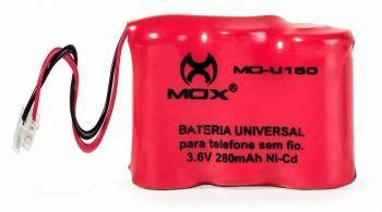 Imagem de Bateria Telefone Sem Fio 3.6v 280mah Universal 3aaa Mo-u150