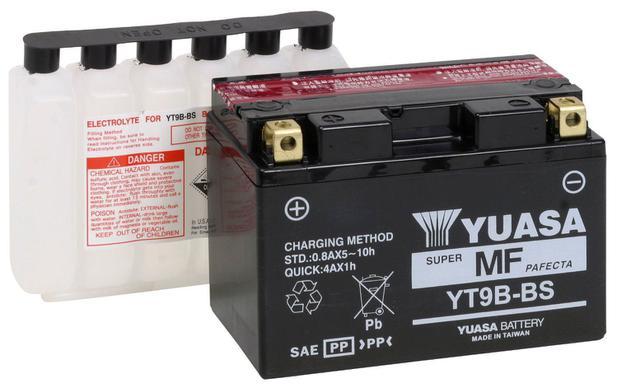 Imagem de Bateria Yuasa Yt9b-bs Xt660 /mt03/yzf R6 /Yamaha 750