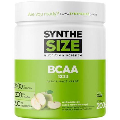 Imagem de Bcaa powder 12:1:1 maca-verde synthesize - 200g